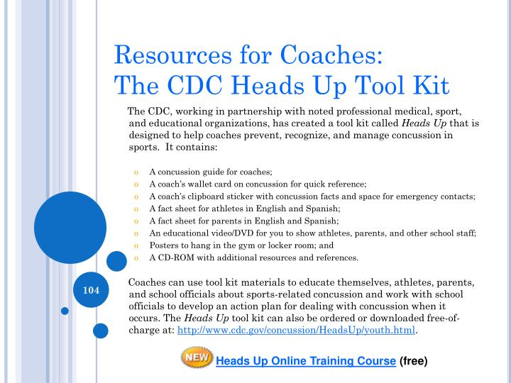 Resources for Coaches: