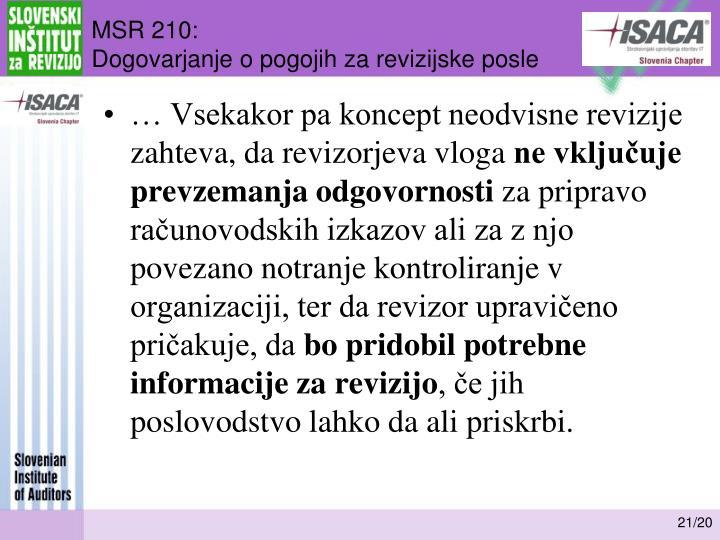 MSR 210: