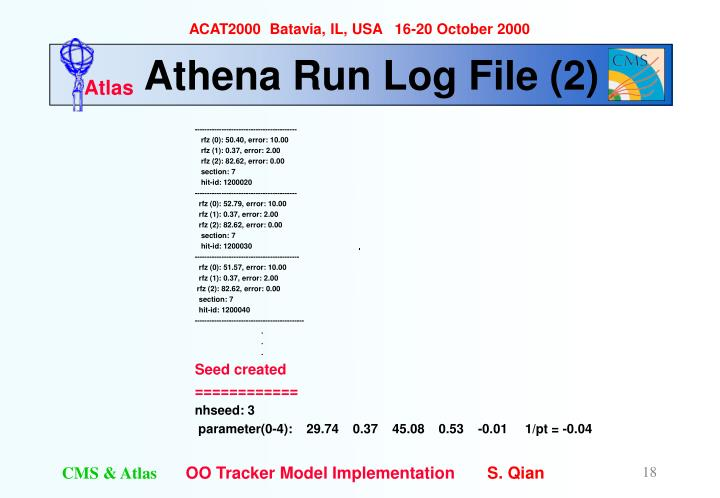 Athena Run Log File (2)