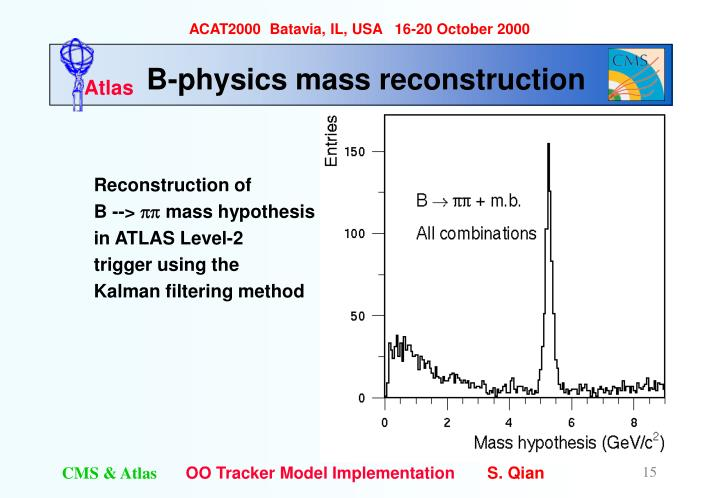 B-physics mass reconstruction