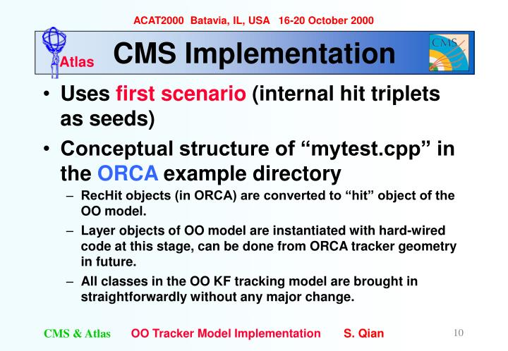 CMS Implementation