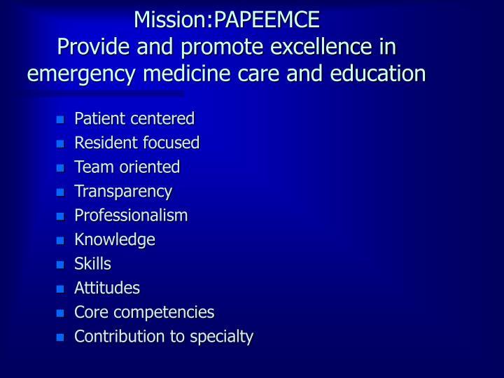 Mission:PAPEEMCE