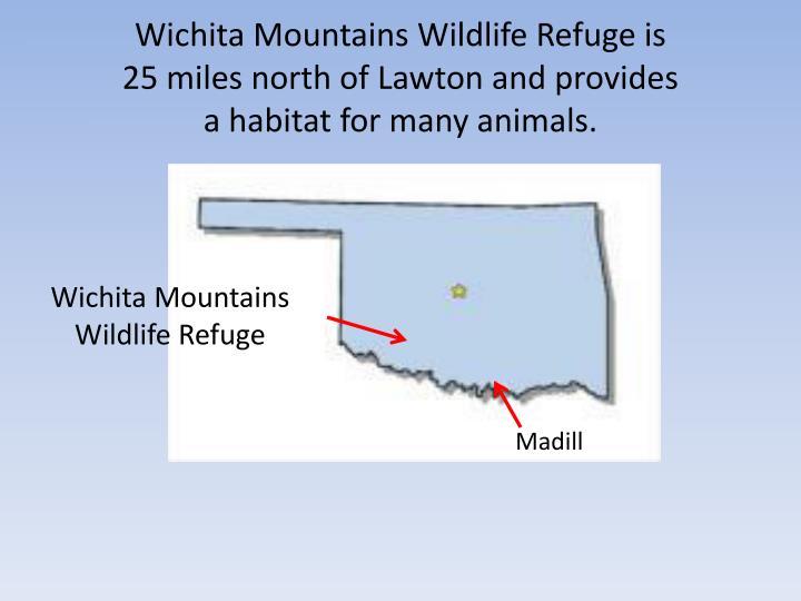 Wichita Mountains Wildlife Refuge is