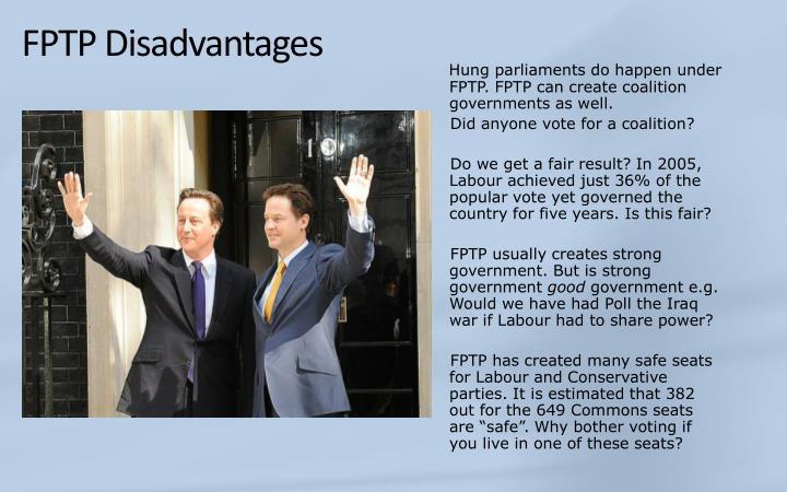 FPTP Disadvantages