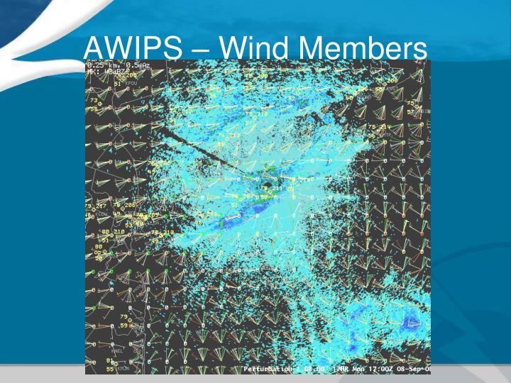 AWIPS – Wind Members