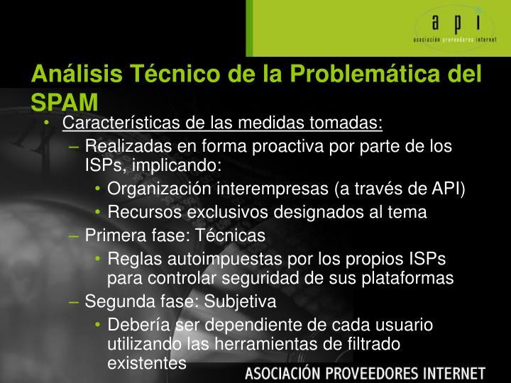 Análisis Técnico de la Problemática del SPAM