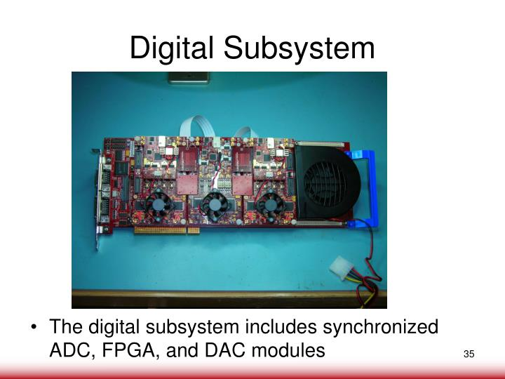 Digital Subsystem