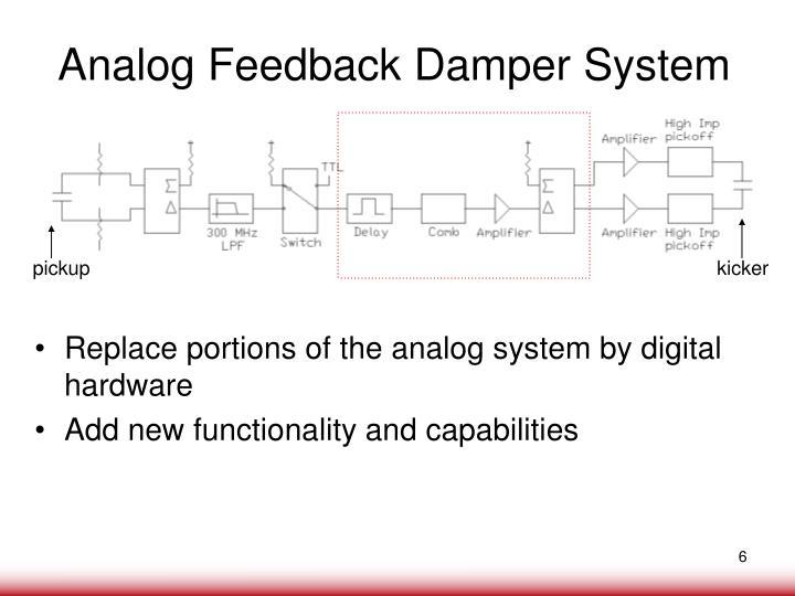 Analog Feedback Damper System