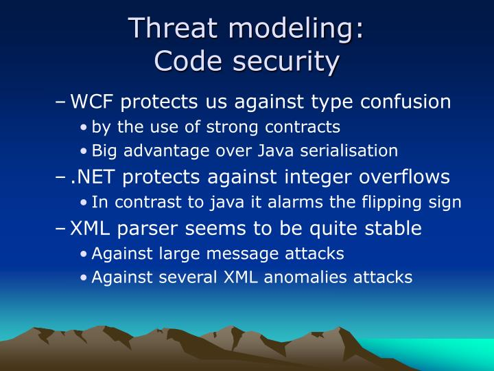 Threat modeling:
