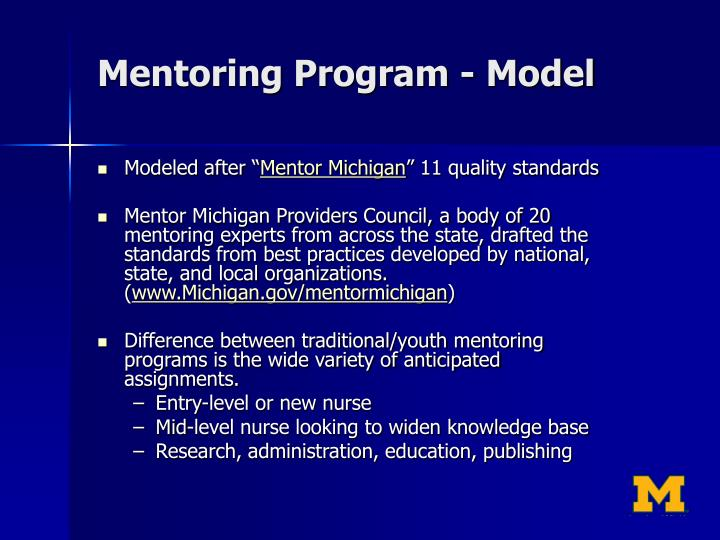 Mentoring Program - Model