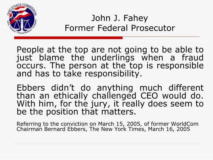 John J. Fahey