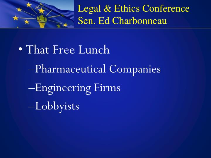 Legal & Ethics Conference