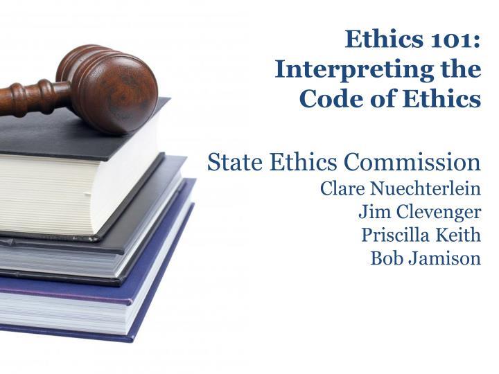 Ethics 101: