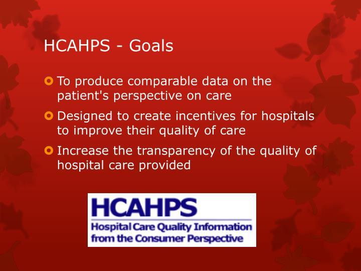 HCAHPS -