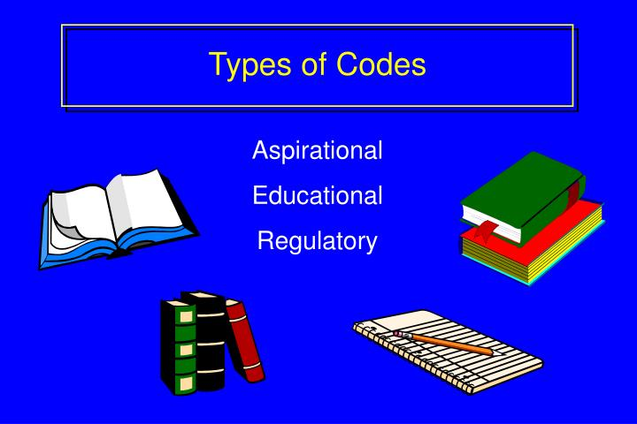 Types of Codes