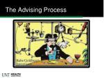 the advising process