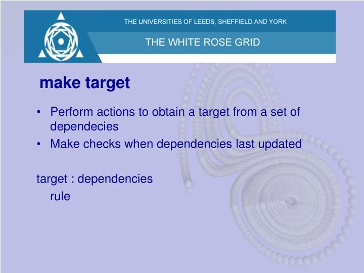 make target