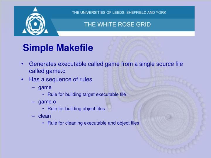 Simple Makefile