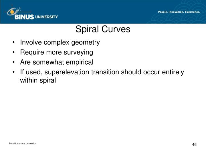 Spiral Curves