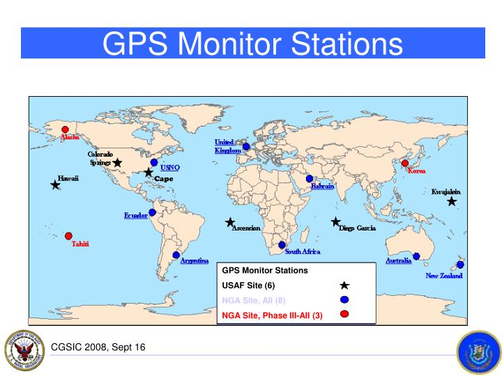 GPS Monitor Stations