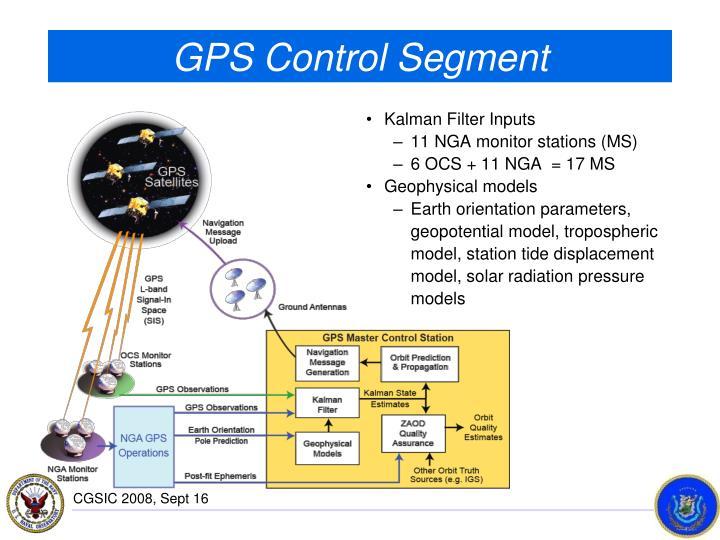 GPS Control Segment