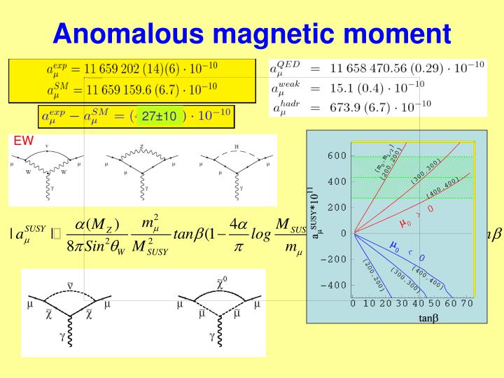 Anomalous magnetic moment