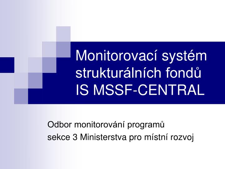 monitorovac syst m struktur ln ch fond is mssf central