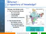 internet a repository of knowledge1