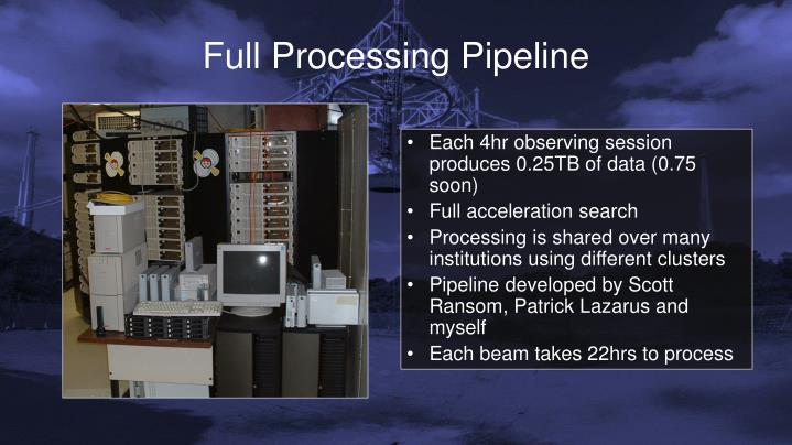 Full Processing Pipeline