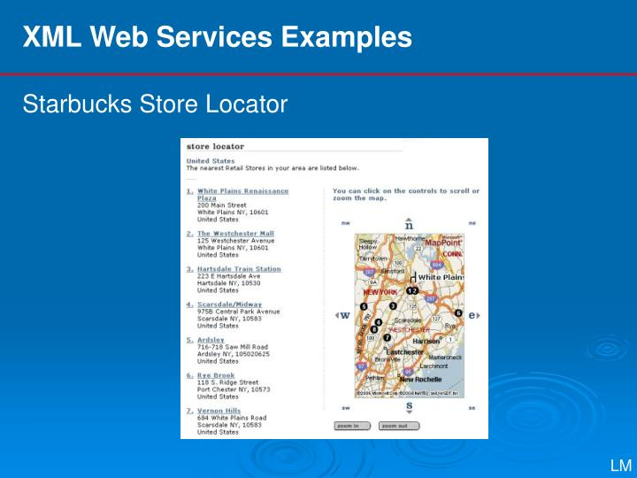 XML Web Services Examples