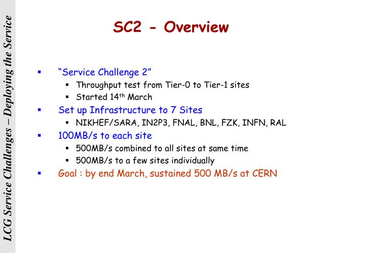 SC2 - Overview