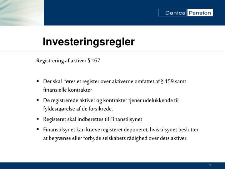 Investeringsregler
