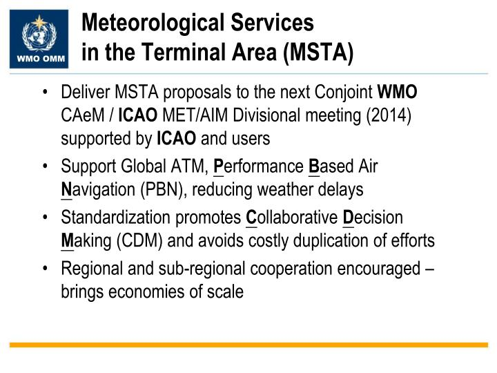 Meteorological Services