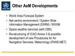 other aem developments
