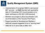 quality management system qms