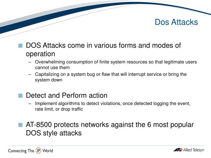 Dos Attacks