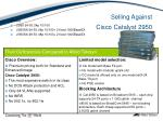 selling against cisco catalyst 2950