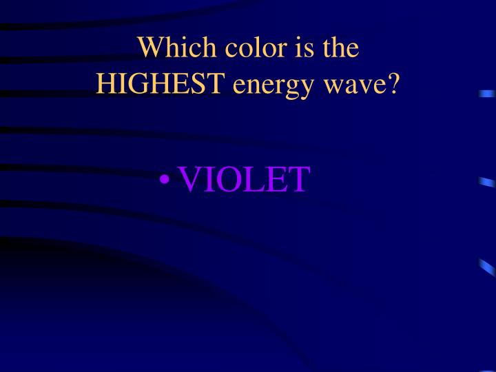 Which color is the