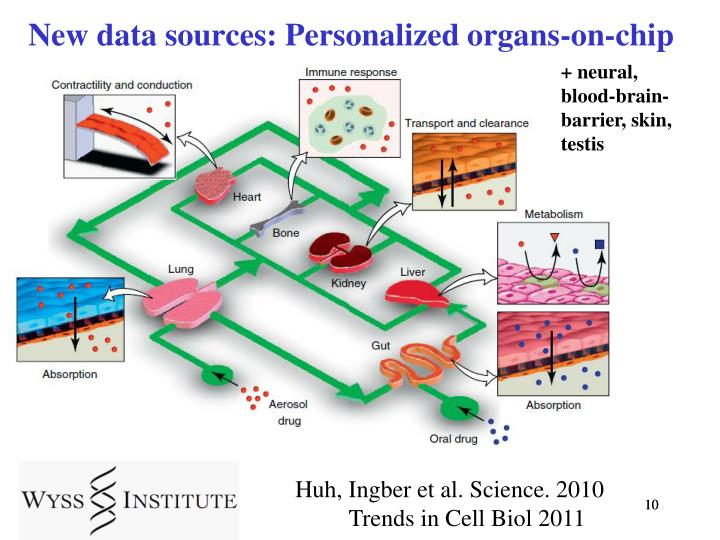 New data sources: Personalized organs-on-chip
