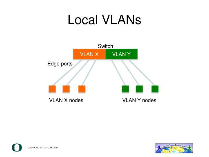 Local VLANs