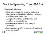 multiple spanning tree 802 1s7
