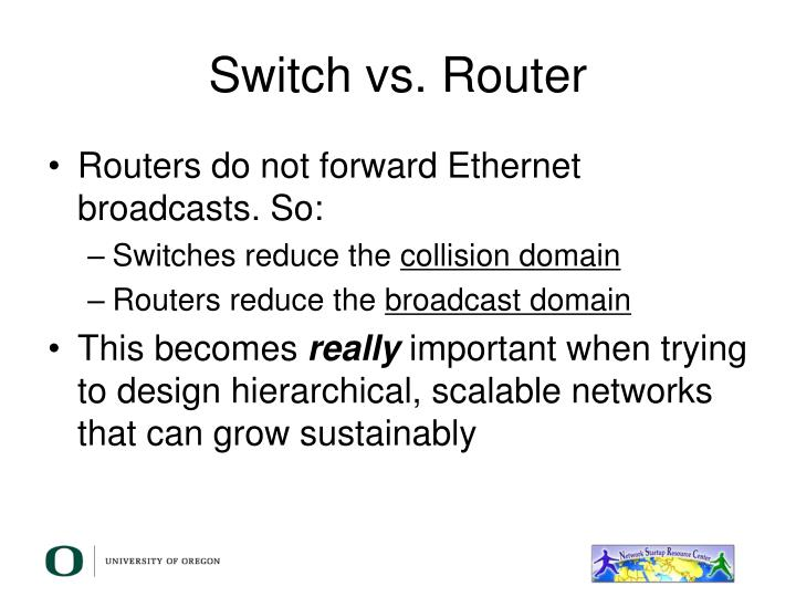 Switch vs. Router