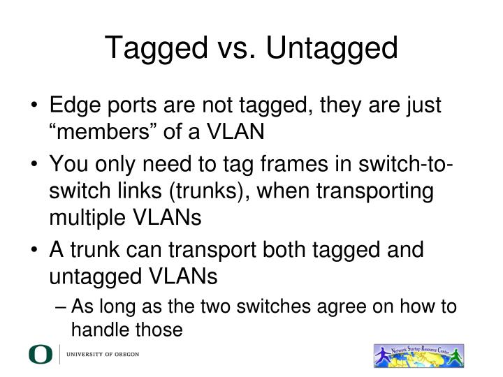 Tagged vs. Untagged