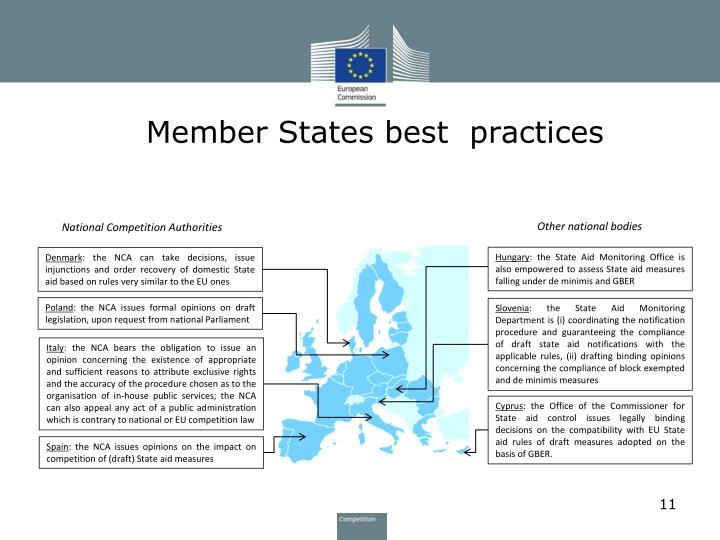 Member States best  practices