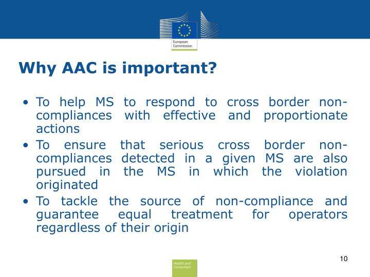 Why AAC is important?