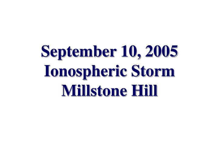 September 10, 2005