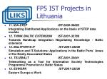 fp5 ist projects in lithuania2