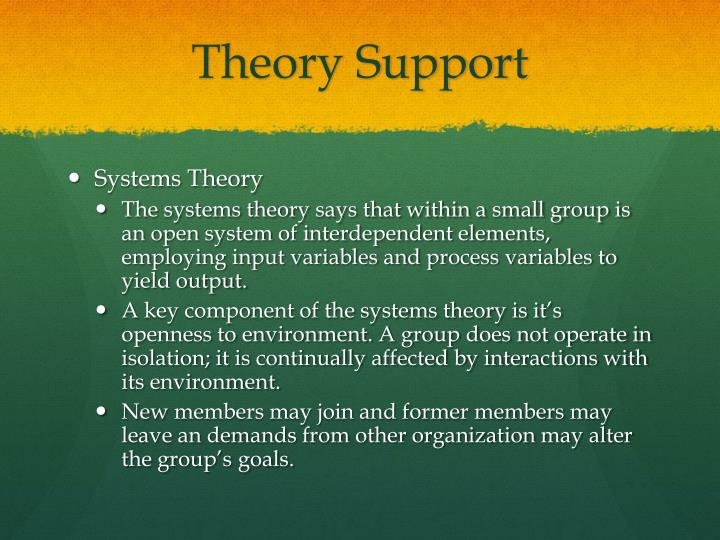 Theory Support