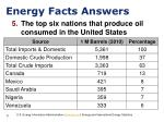 energy facts answers3