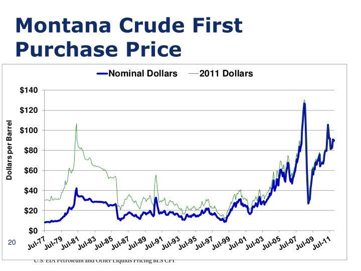 Montana Crude First
